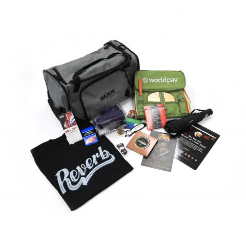 The Top 100 Summer NAMM swag bag is something all Top 100 Dealers want to take home with them after their trip to Nashville. This is a unique opportunity to build your brand to the best retailers in the business.