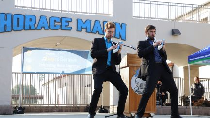 Melodica Men Perform at The NAMM Foundation Day of Service