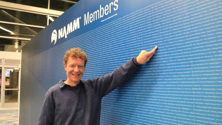 NAMM Chair Chris Martin at the NAMM Member Board