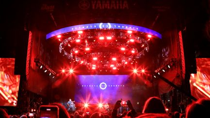 Animal as Leaders Perform on The NAMM Yamaha Grand Plaza Stage
